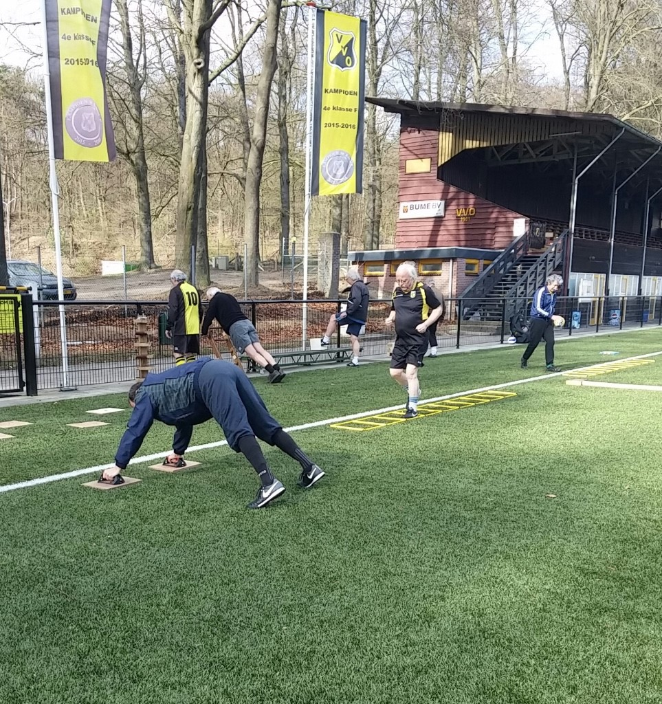 Circuittraining Walking Football