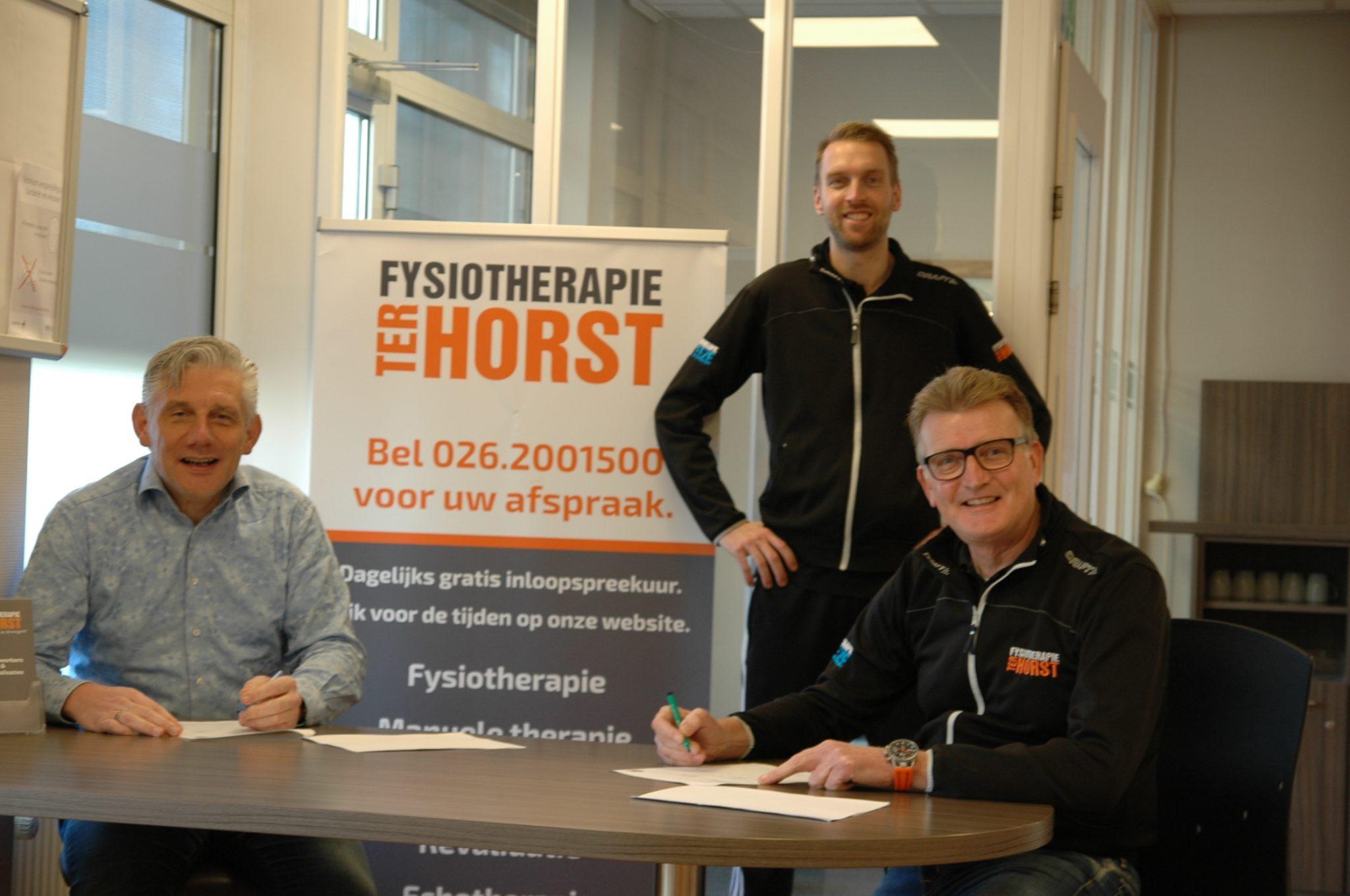 Fysiotherapie Ter Horst tekent vergaand Partnership met VVO