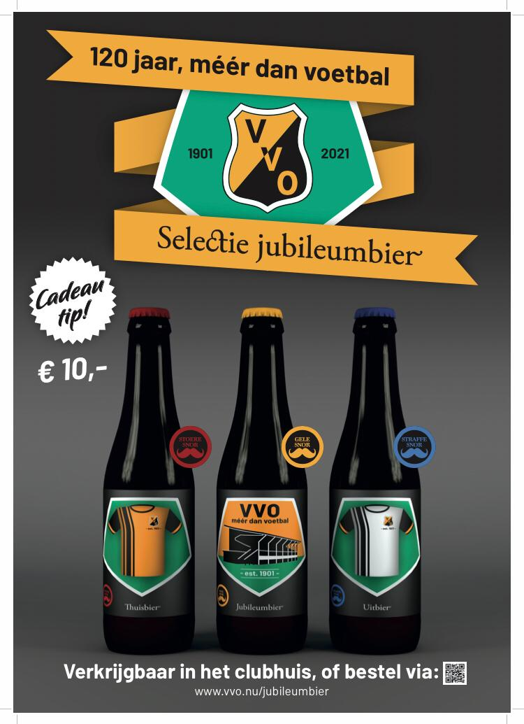 Bestel VVO Jubileumbier